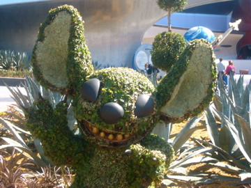 Stitch Topiary - Epcot International