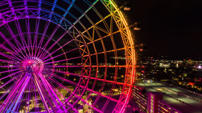 Orlando Attractions for Grown Ups ICON Ferris Wheel