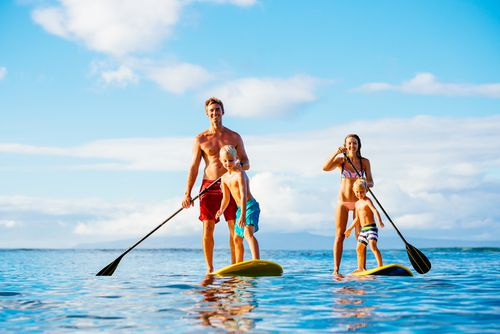 Hilton Head Family Friendly Stand up Paddle Board