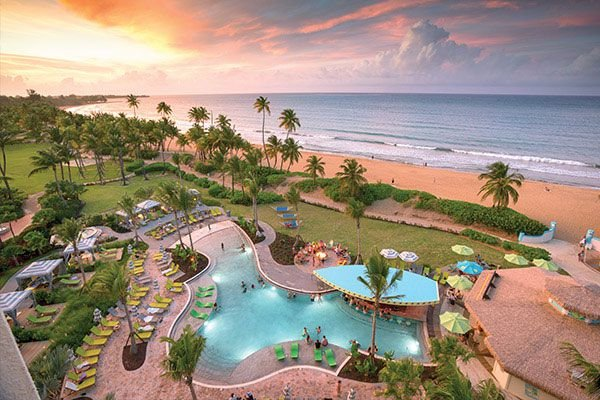 wyndham grand rio mar is an oceanfront resort on the beaches of Puerto Rico