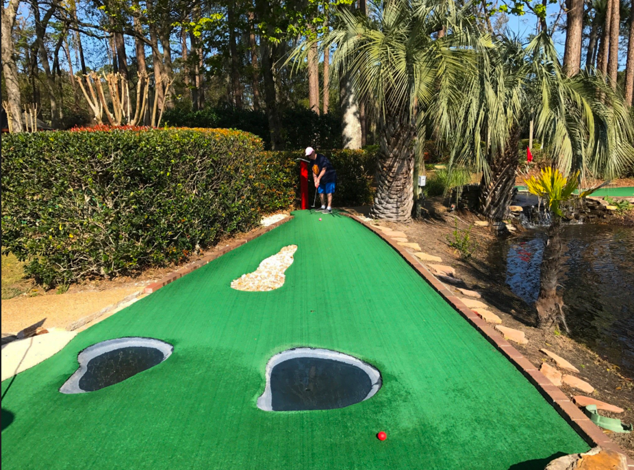 Mini Golf at Legendary Golf in Hilton Head