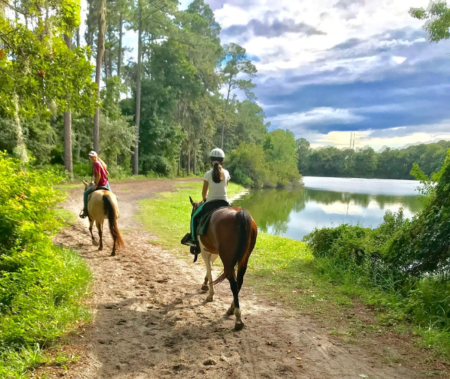 Hilton Head Horseback riding at Lawton Stables