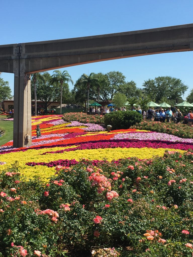 Epcot in the Spring, Festival of Flowers