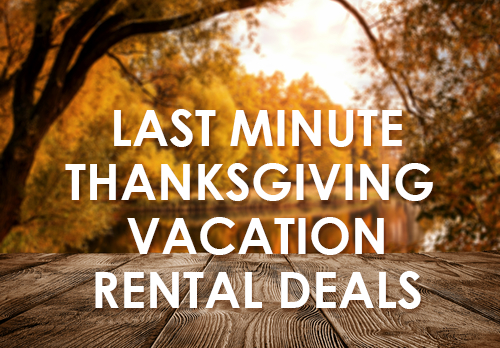 the best thanksgiving vacations timeshare rentals