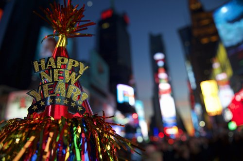 new york times square new years eve