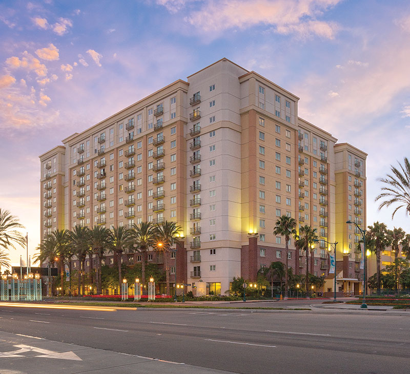 WorldMark Anaheim best christmas towns in usa